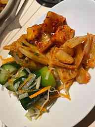 オイキムチ・レンコンのキムチ・カクテキ・白菜キムチ
